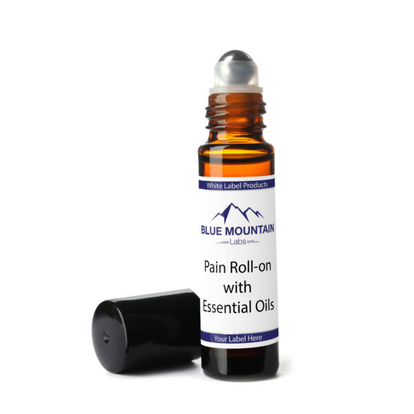 White Label Pain Roll-on with Essential Oils