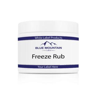 White Label Freeze Rub