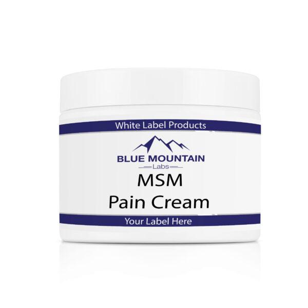 White Label MSM Pain Cream